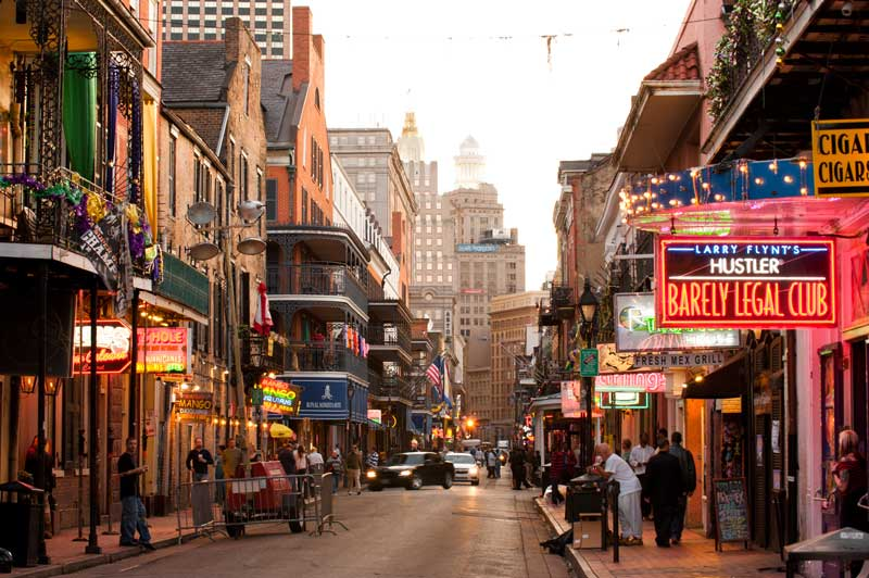 Bourbon Street © Chris Litherland