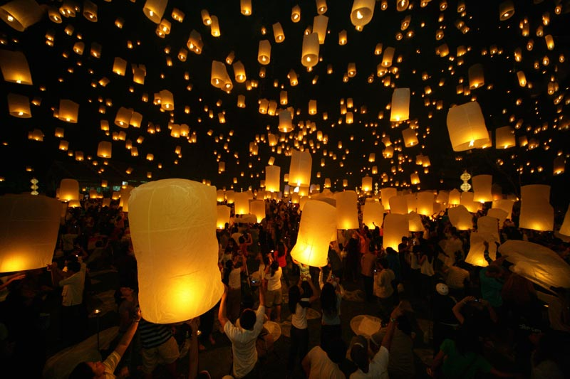 Loy Krathong © Flickr C