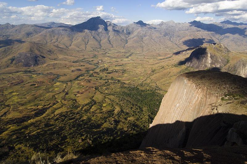 Madagascar, avec les zébus sur les hauts plateaux