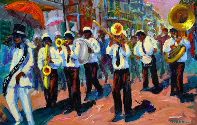 New Orleans Second Line © Bob Graham