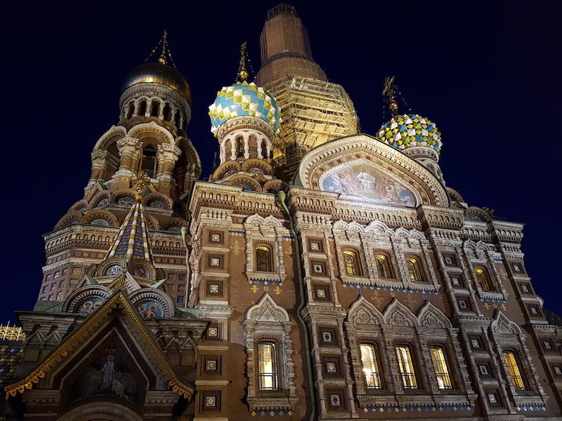 Souvenirs de la révolution russe à Saint-Pétersbourg