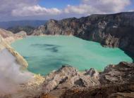 Le cratère du volcan Kawah Ijen