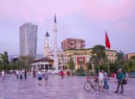 Albanie place de Skanderberg