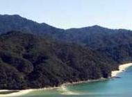 La plage d'Awaroa