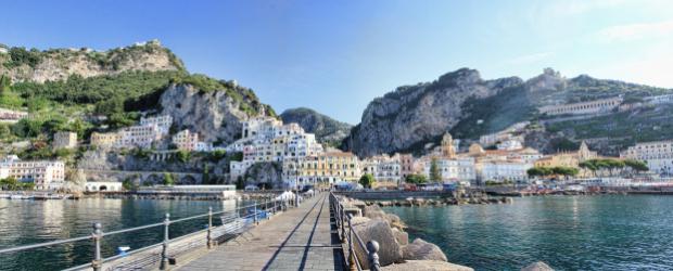 De Pompéi à la côte amalfitaine