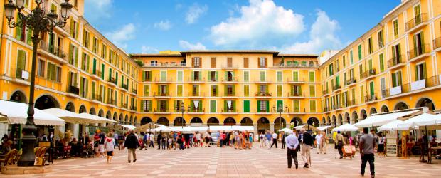 Plaza Mayor de Majorque