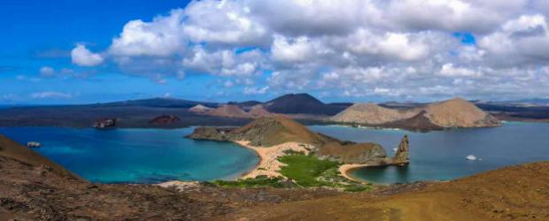 Bartolome Island, Galapagos en Equateur