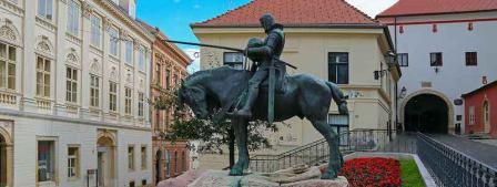 Croatie Zagreb place