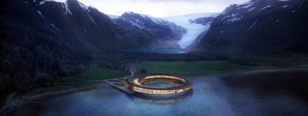 Un futur hôtel à énergie positive dans les fjörds de Norvège