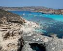 Crique de blue lagoon