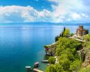 Le Lac Ohrid en Macédoine