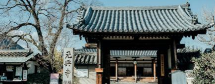 Japon Nara temple Gango Ji