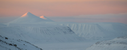 Paysage emblématique du Svalbard ©ChristopheMigeon