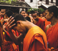 Laos moines