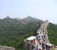Secteur touristique muraille de Chine