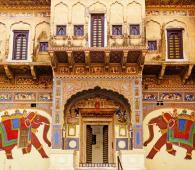Une Haveli de Mandawa au Rajasthan