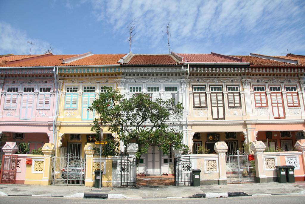 Maisons peranakans à Singapour
