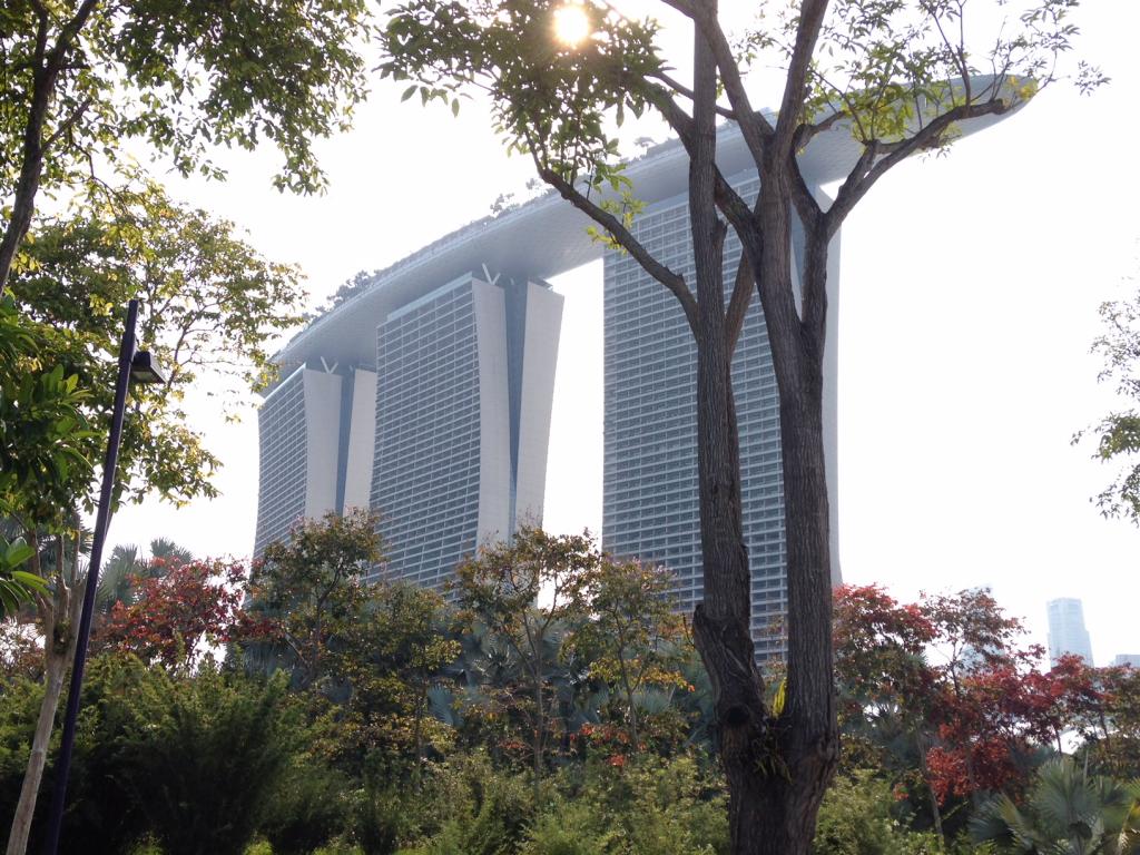 L'hôtel mythique Marina Bay Sands ©I.Gressier