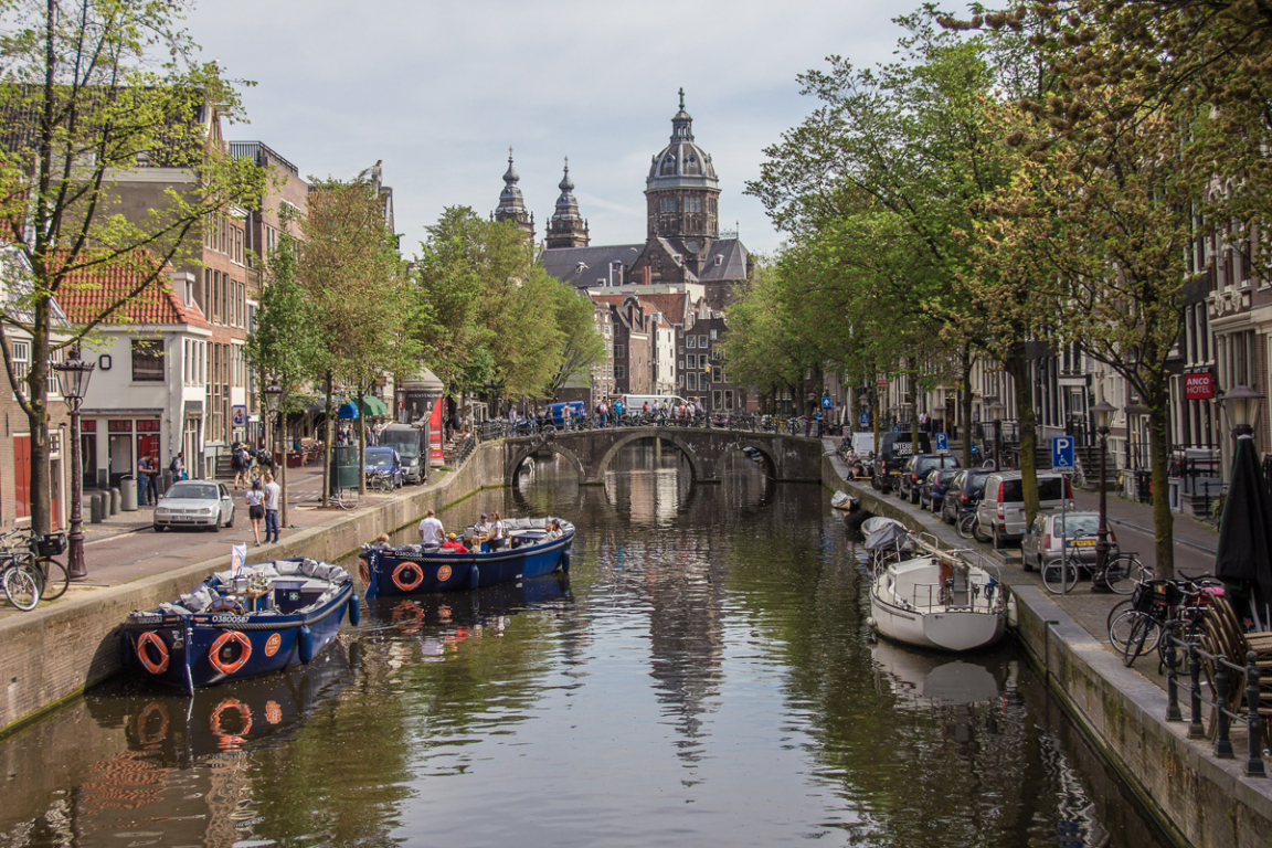 Amsterdam a été construite à la fin du XIIème siècle ©B.Cappronnier