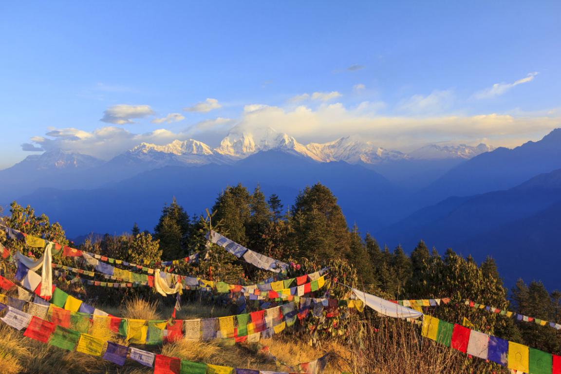 Annapurnas ©Bertrand Linet