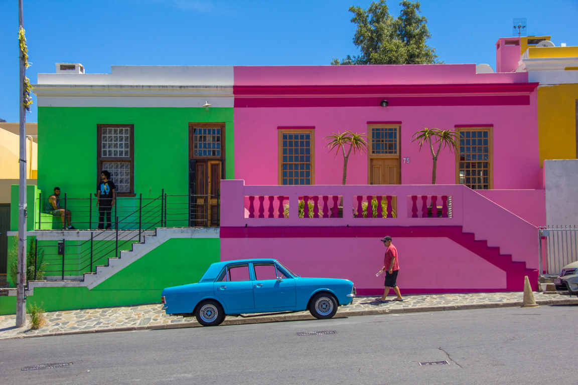 Quartier de Bo-Kaap ©B.Cappronnier