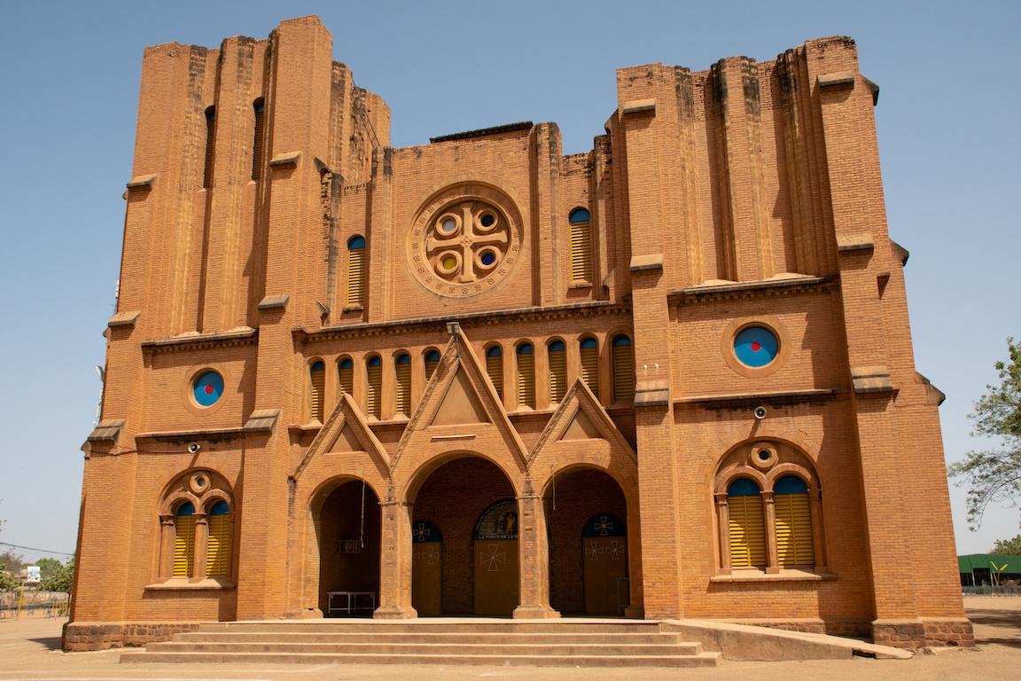 Burkina Faso cathédrale