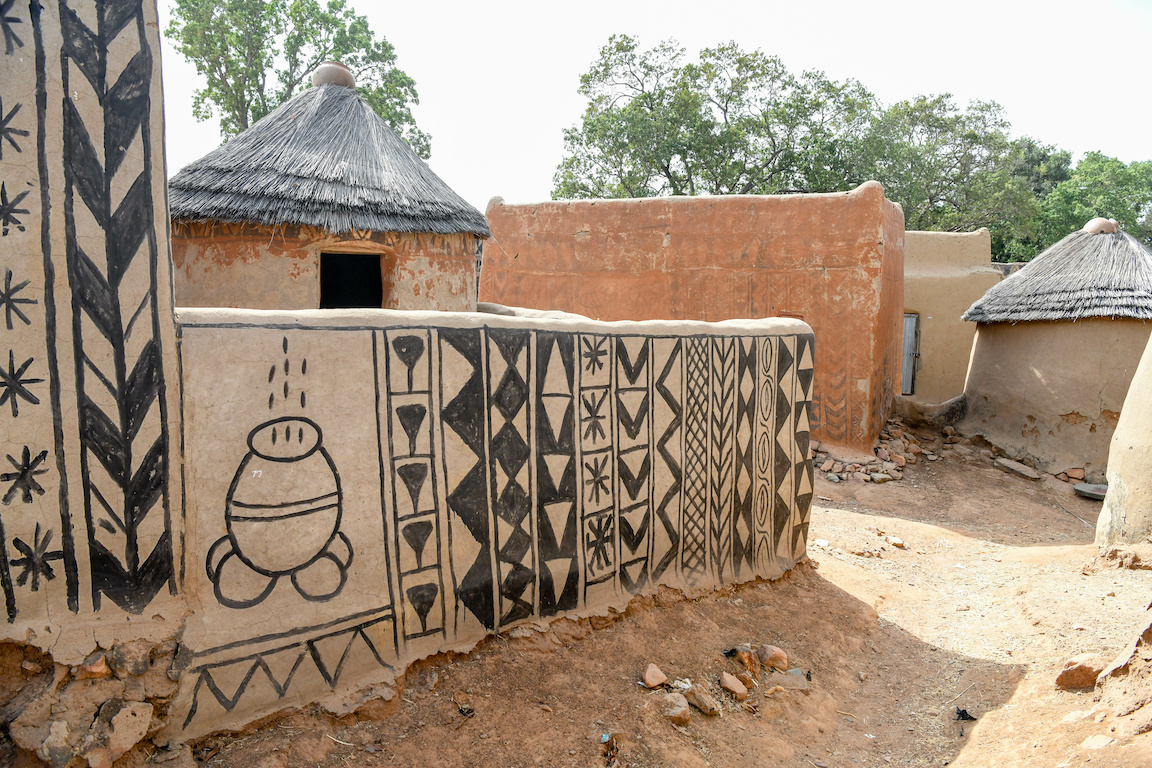 Burkina Faso Tiebele