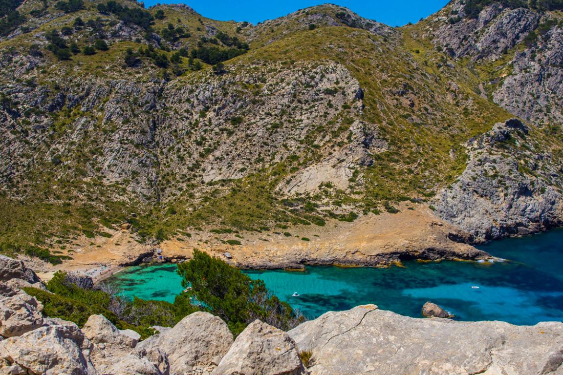 La splendide Cala Agulla, Majorque ©B.Cappronnier