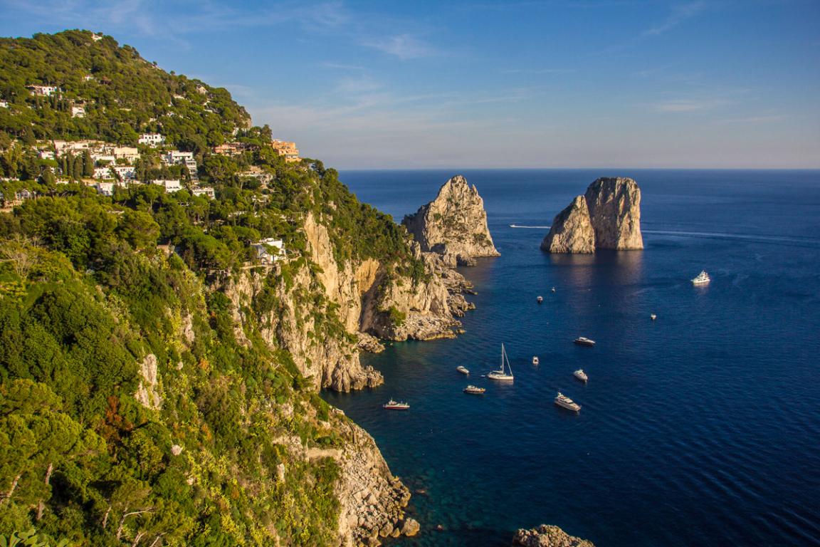 Faraglioni di Capri ©B.Cappronnier