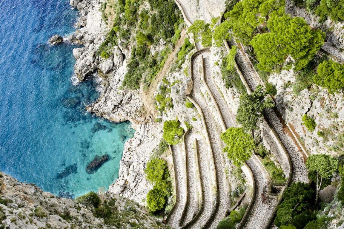 La Via Krupp à Capri