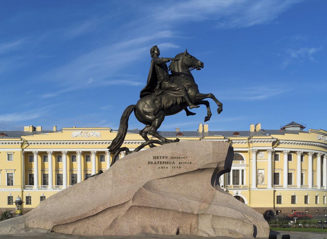 Cavalier de Bronze ©Wikimedia commons