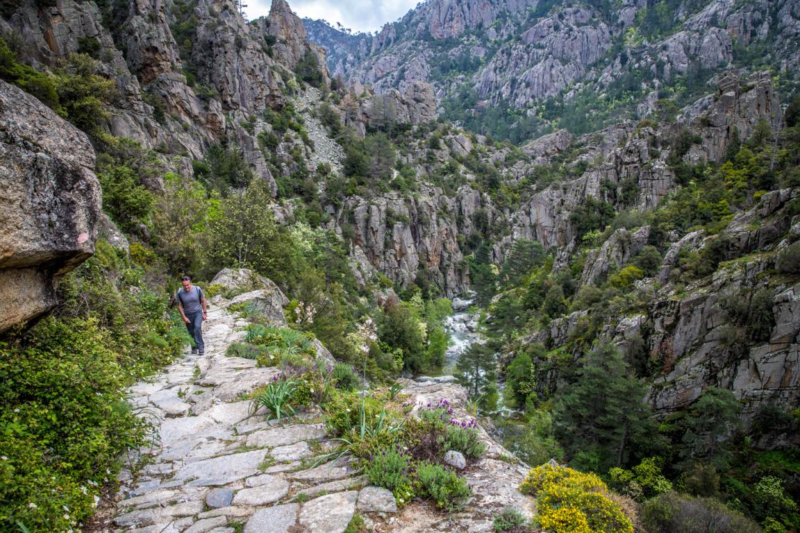 Sentier GR 20, Corse