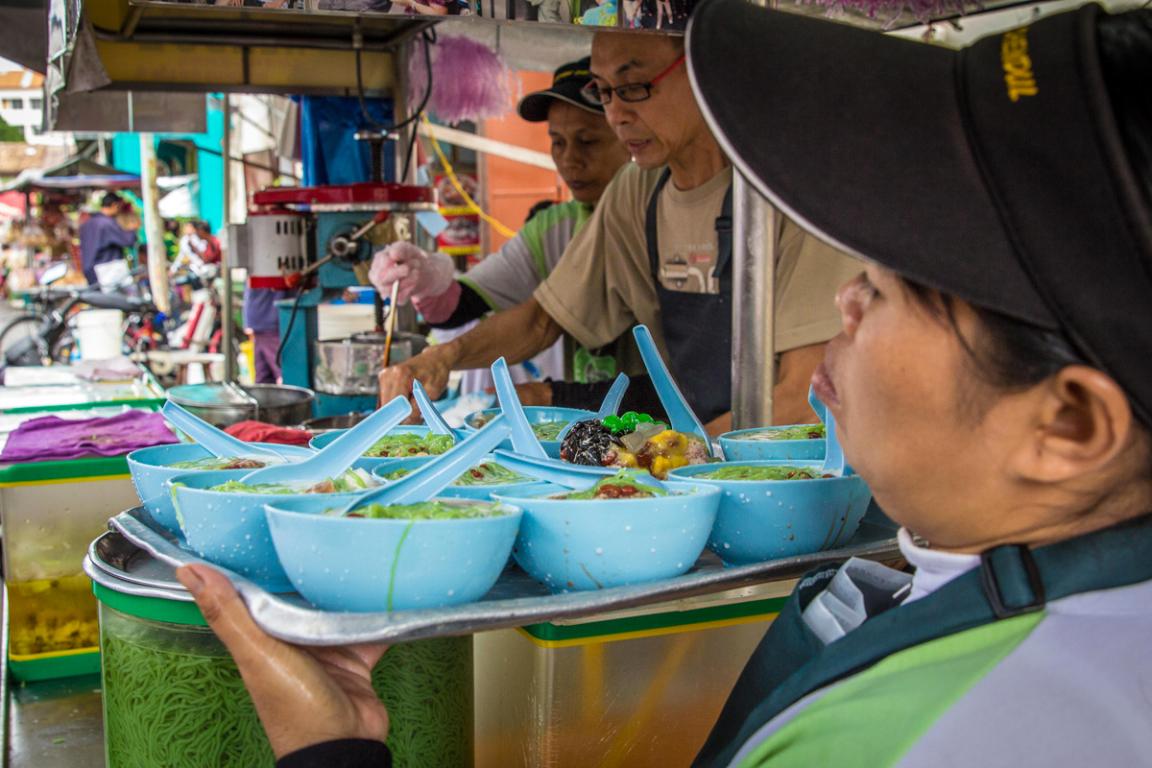 La cuisine de rue à Penang ©B.Cappronnier