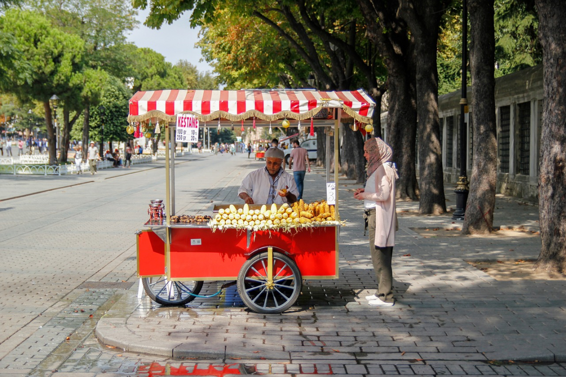Dans les rues d'Istanbul
