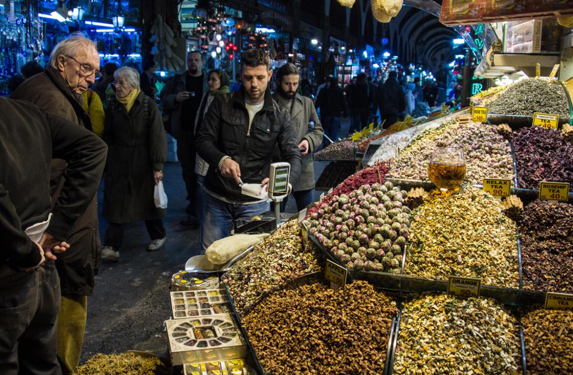 Échoppe du Grand Bazar d'Istanbul ©B.Cappronnier