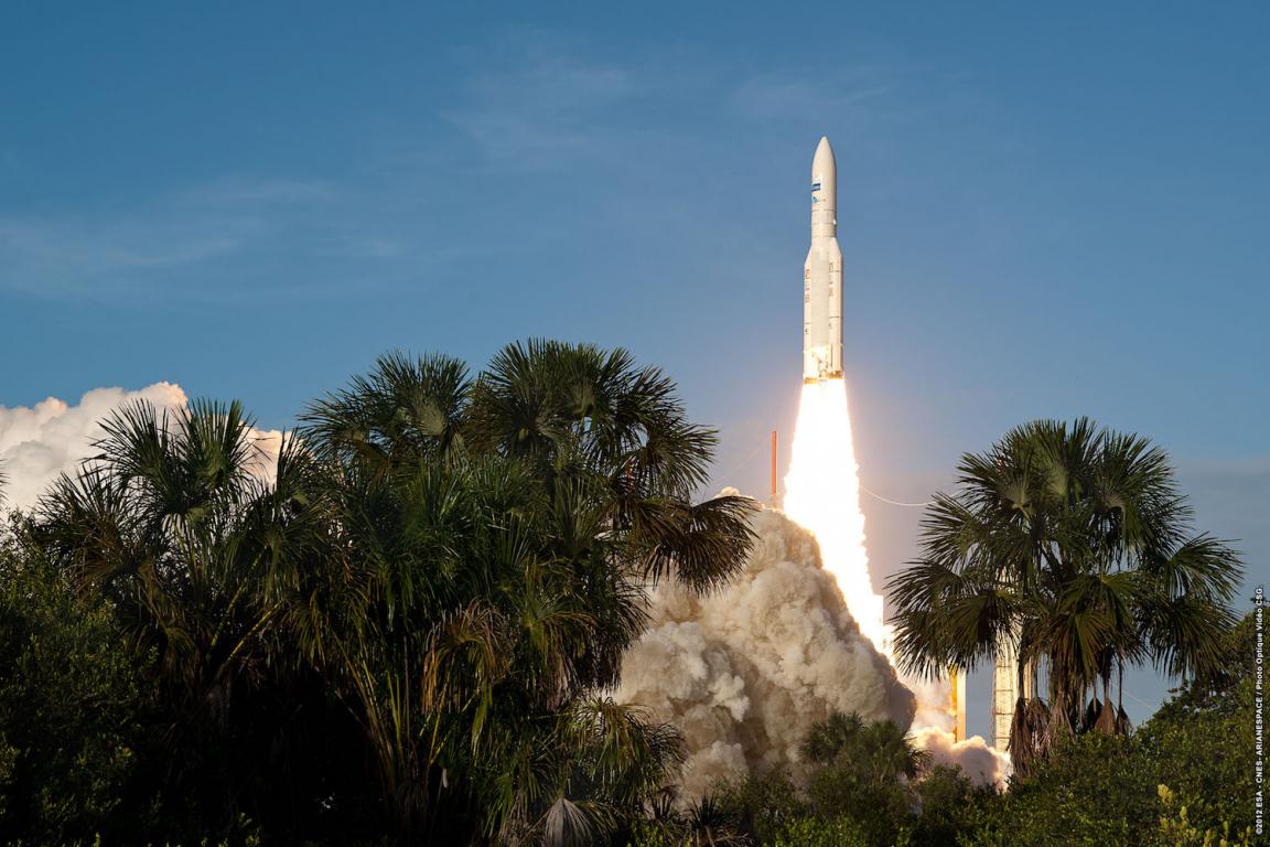 Guyane fusée