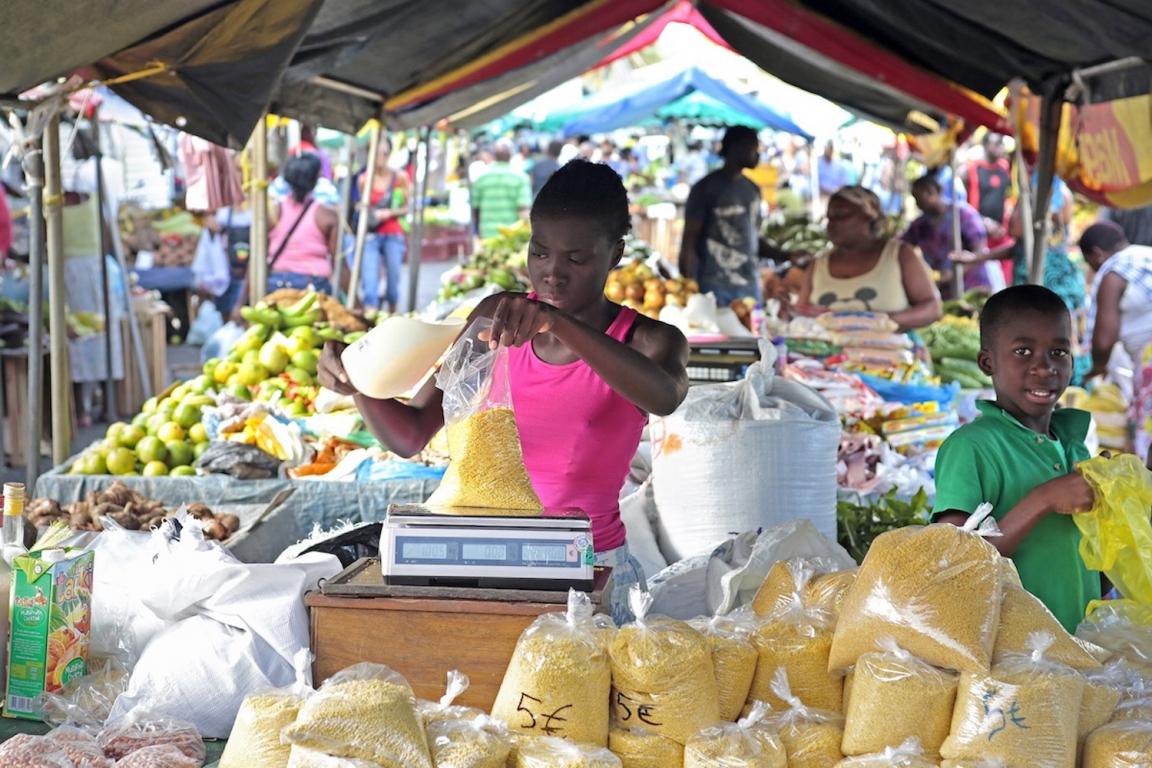 Guyane marché Cayenne