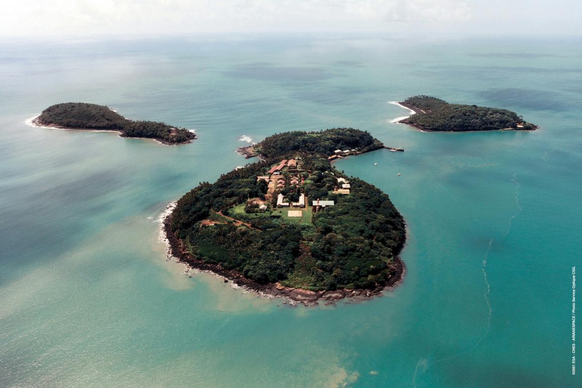 Guyane île du Salut