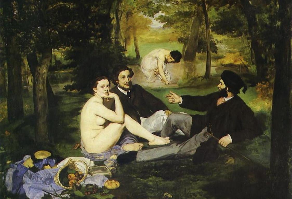 Impressionnistes Le déjeuner sur l'herbe Manet