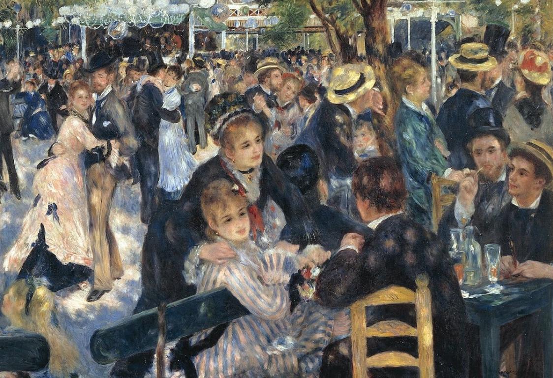 Impressionnistes Renoir Montmartre