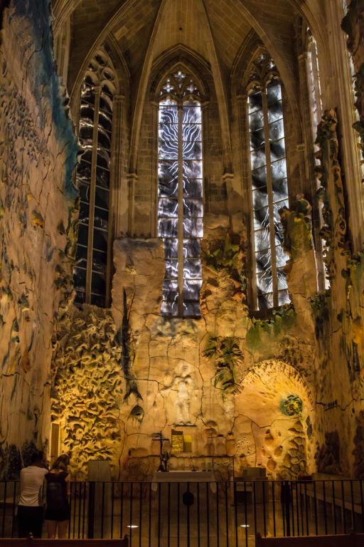 Décor de la Capella del Santissim dans la cathédrale de Palma ©B.Cappronnier