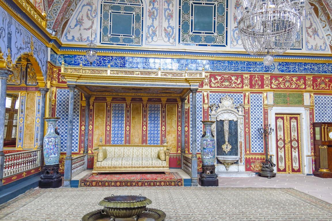 Intérieur du palais de Topkapi
