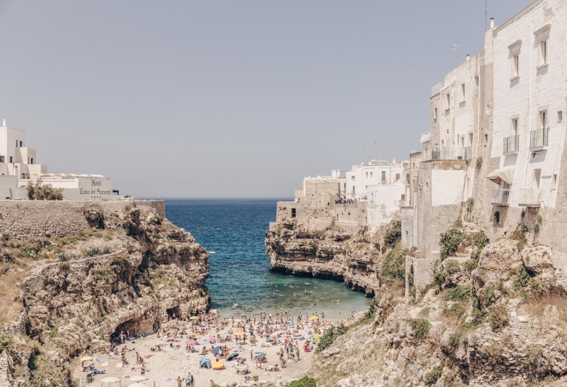 Italie Pouilles Polignano a mare