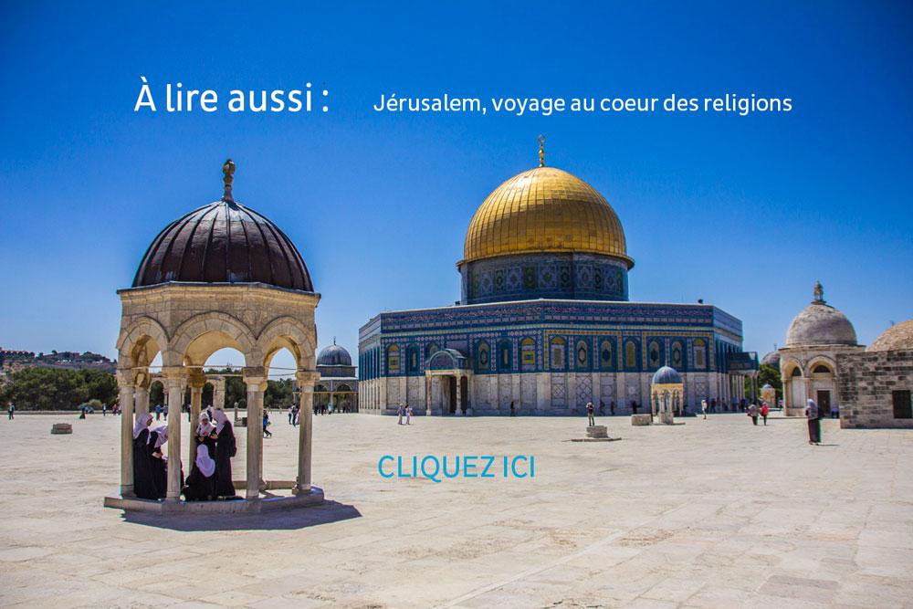 Dome du rocher, Jerusalem ©Benoit Cappronnier