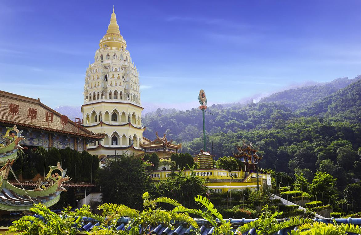Le temple Kek Lok Si, plus grand temple bouddhiste de Malaisie