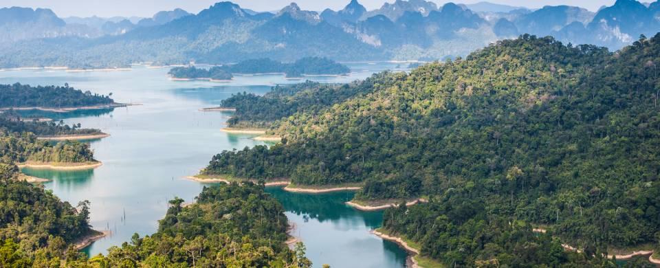 Le parc national de Khao Sok en Thaïlande ©FlickrCC