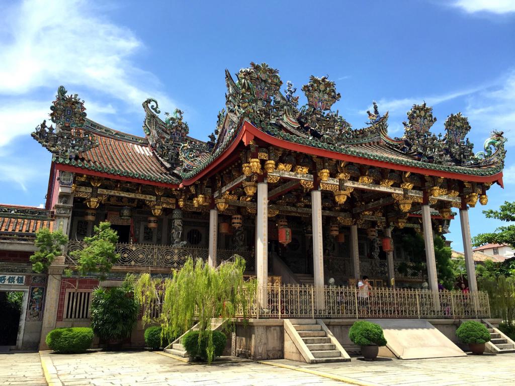Khoo Kongsi, maison de clan chinois