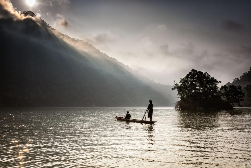 Le lac Ba Be au Vietnam ©Sylvain Marcelle
