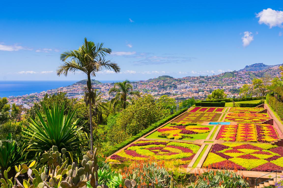 Madère jardin botanique