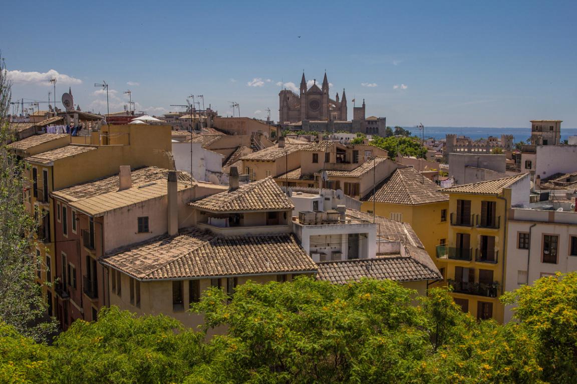 Vue sur la ville de Palma ©B.Cappronnier